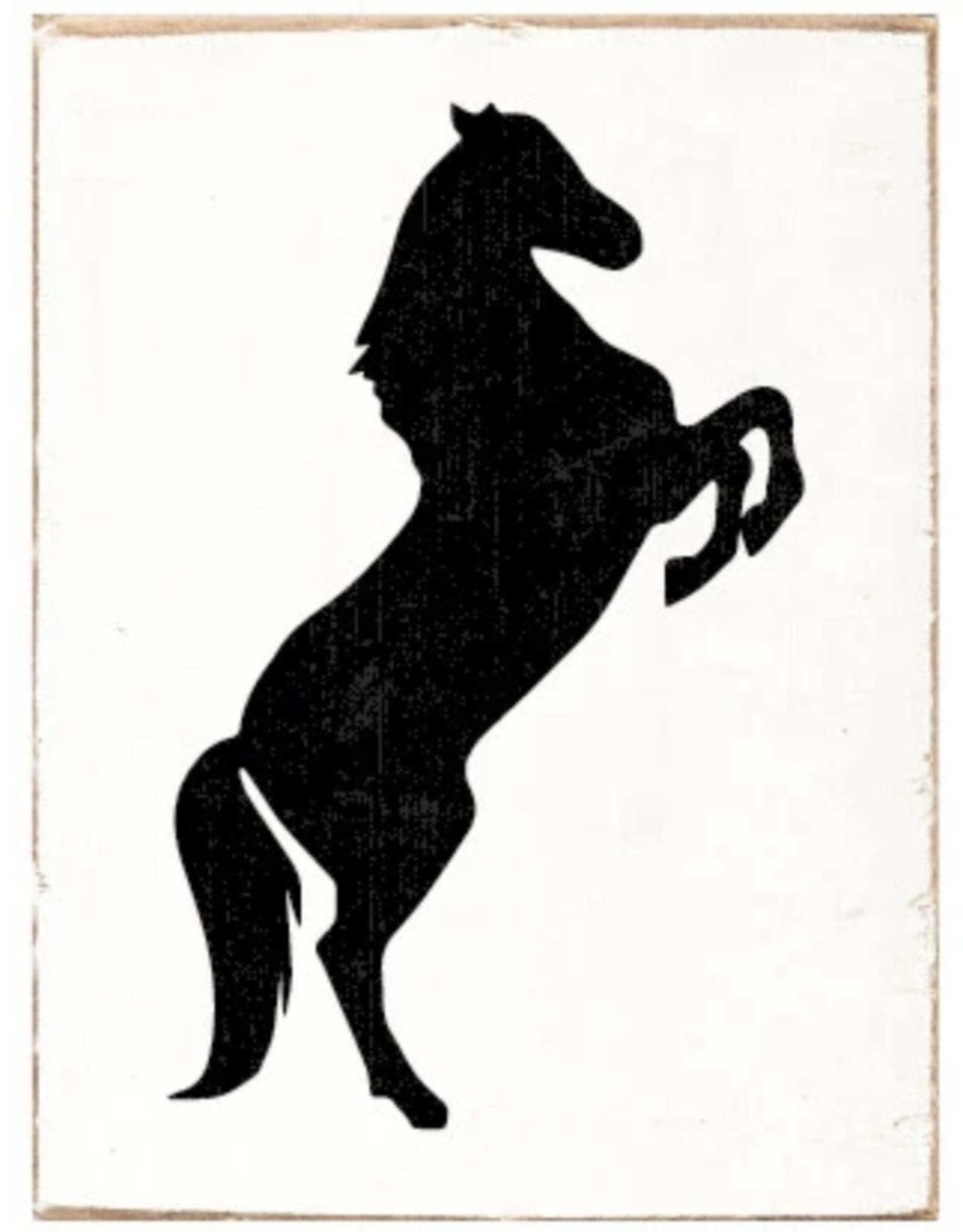 Rustic Marlin Rustic Marlin - Symbol Blocks Horse