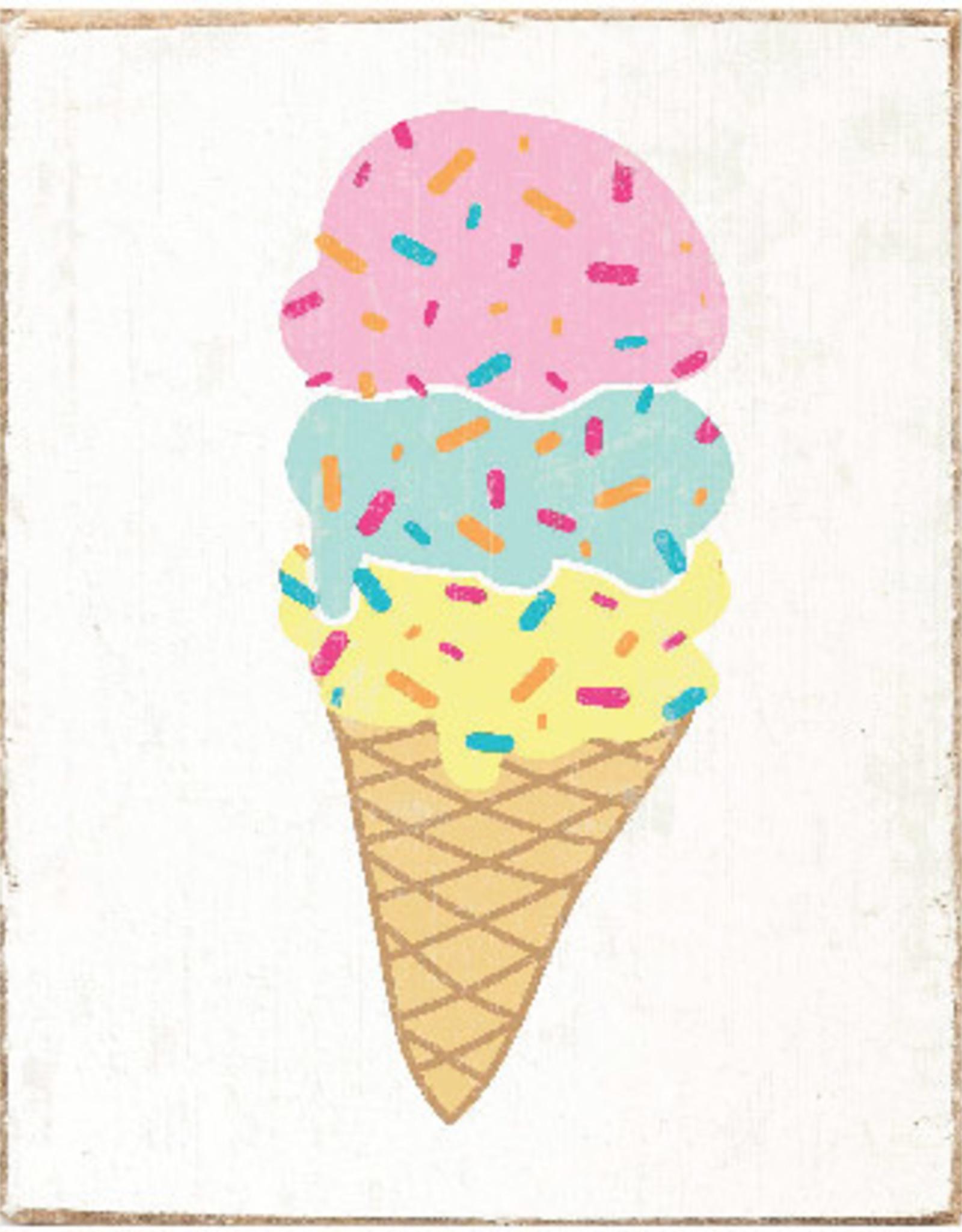 Rustic Marlin Rustic Marlin - Symbol Blocks Ice Cream