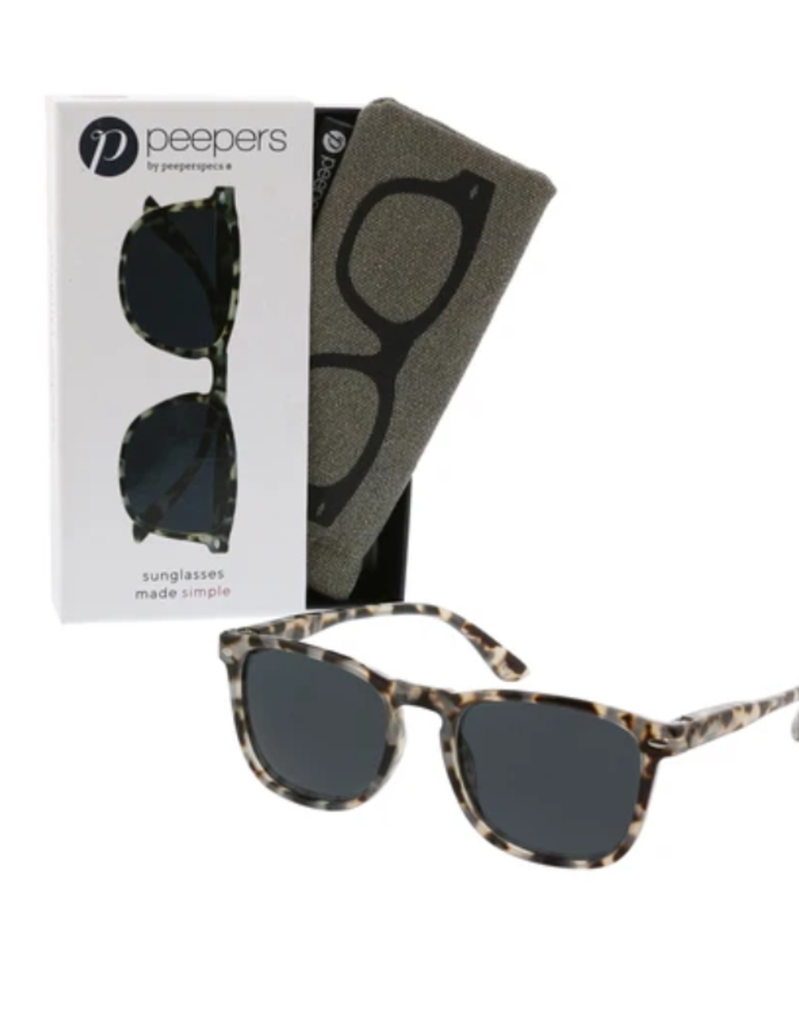 Peepers Peepers - Simply Reading Sunglasses Gray Tortoise