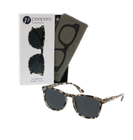 Peepers - Simply Reading Sunglasses Gray Tortoise