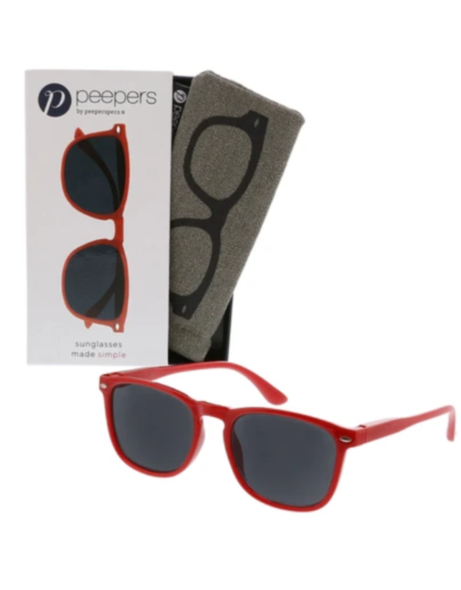 Peepers Peepers - Simply Reading Sunglasses Red