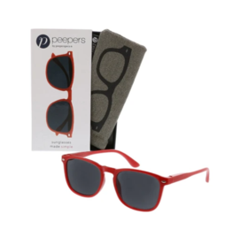 Peepers - Simply Reading Sunglasses Red