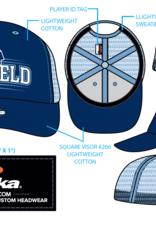 Pukka - Medfield Hats Trucker Style - Medfield with Warrior on front