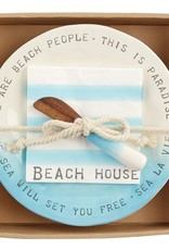 Mud Pie Mud Pie - Beach House Cheese Set