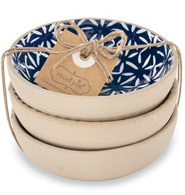 Mud Pie - Indigo Dipping Dish Set