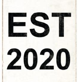 Rustic Marlin Rustic Marlin - Symbol Blocks EST 2020