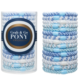 L. Erickson L. Erickson - Grab & Go Pony Tube Blue Wave