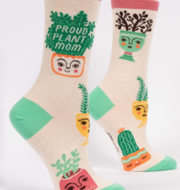 Blue Q Blue Q - Crew Socks Proud Plant Mom