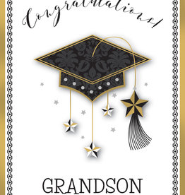 Pictura Pictura - Graduation Card - Grandson
