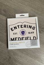 Lantern Press - Entering Medfield Trivet