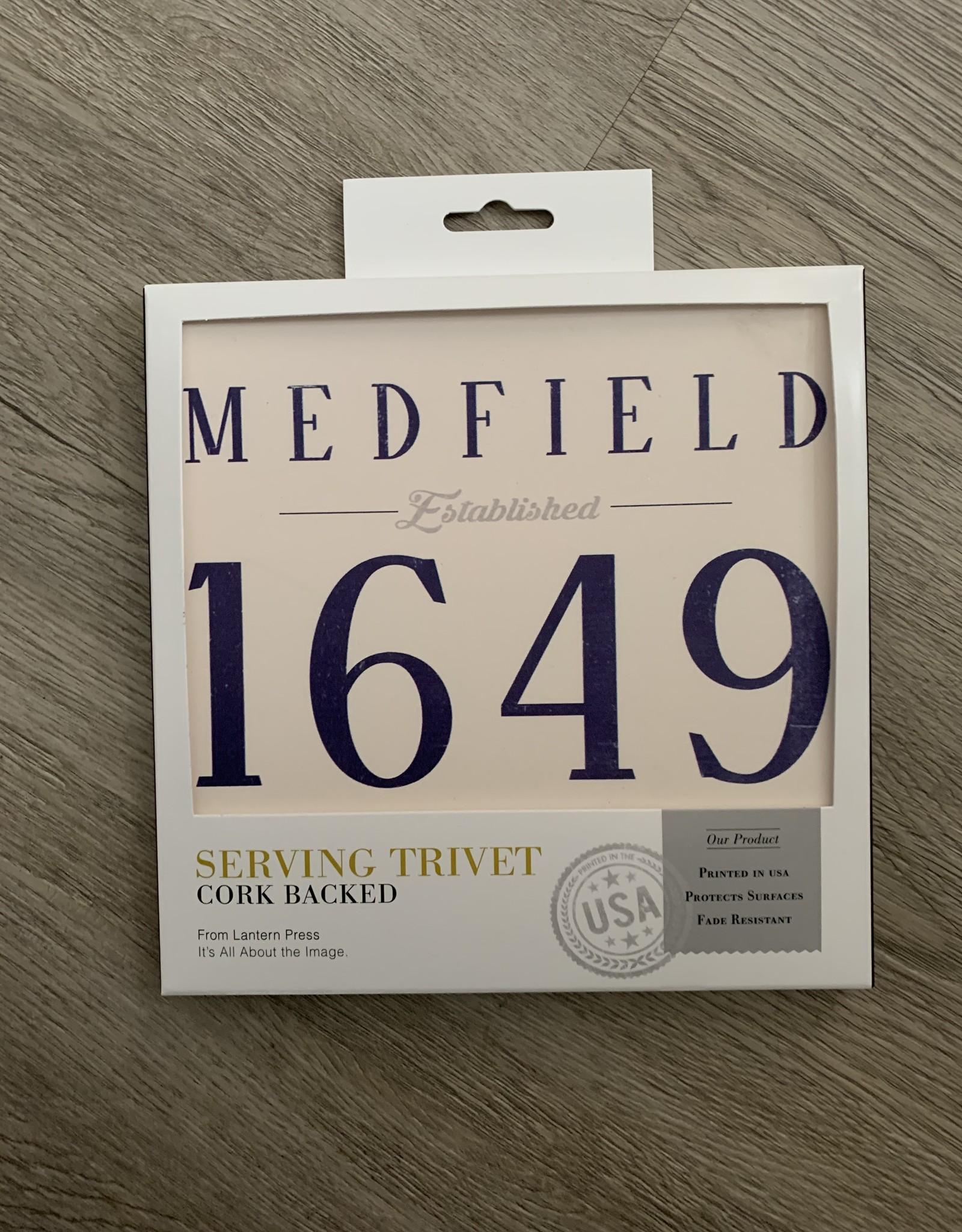 Lantern Press - Medfield EST 1649 Trivet