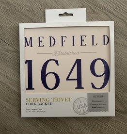 Lantern Press Lantern Press - Medfield EST 1649 Trivet