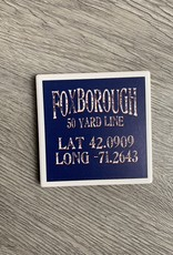 Paint the Town Paint the Town - Foxborough 50 Yard Line Lat/Long Coaster