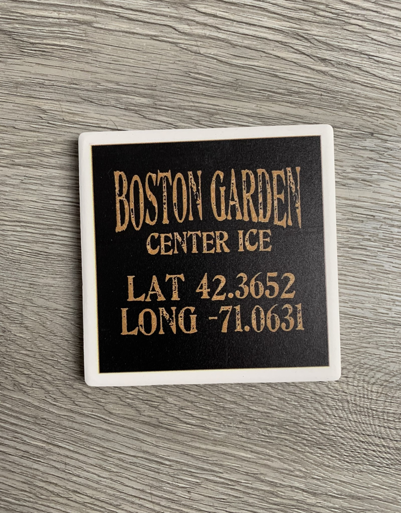 Paint the Town Paint the Town - Boston Garden Center Ice Lat/Long Coaster