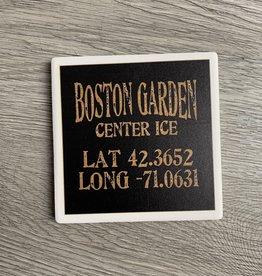 Paint the Town - Boston Garden Center Ice Lat/Long Coaster