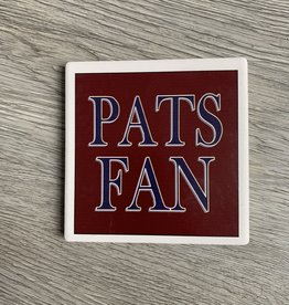 Paint the Town - Pats Fan Coaster