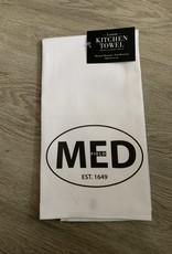 Lantern Press - MED Kitchen Towel