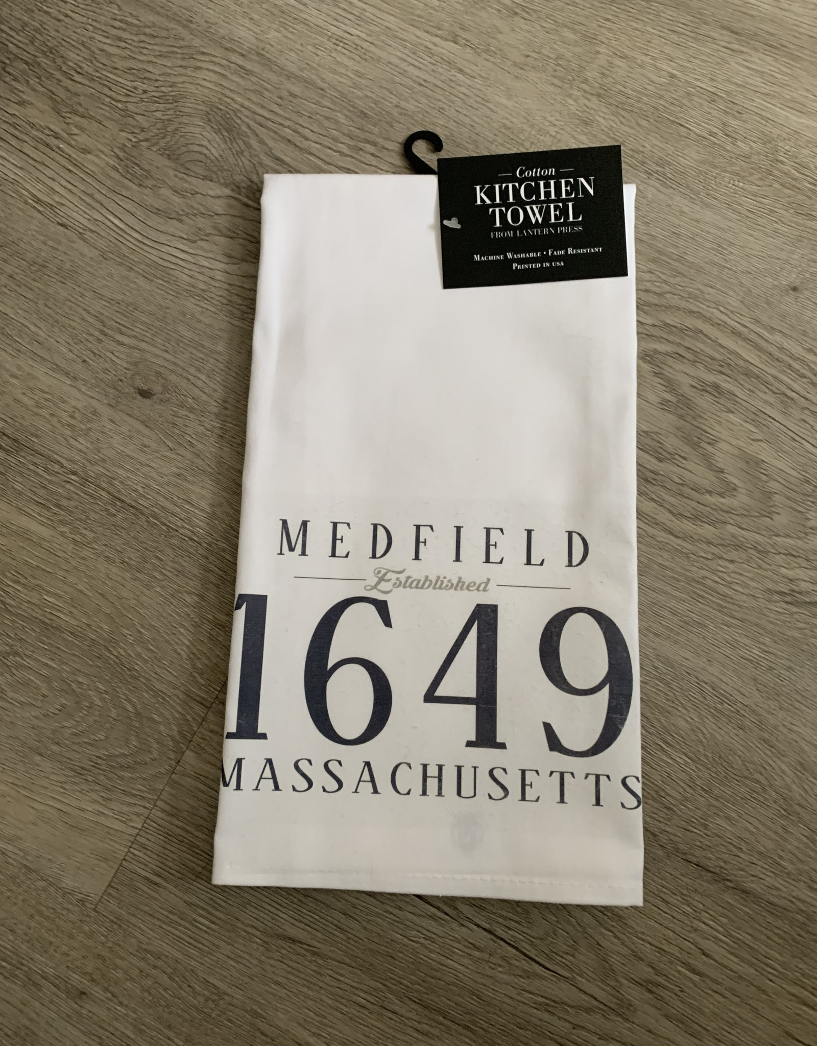 Lantern Press - EST Medfield Kitchen Towel