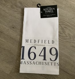 Lantern Press Lantern Press - EST Medfield Kitchen Towel