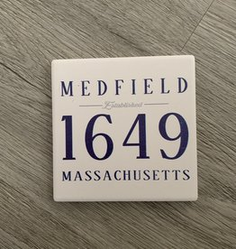 Lantern Press Lantern Press - EST Medfield Coaster