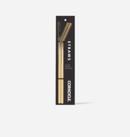 Corkcicle - Straw Set Gold