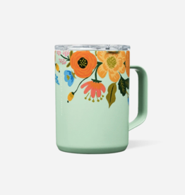 Corkcicle Corkcicle - Rifle Paper 16oz Mug Mint