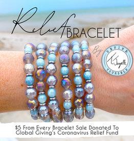 T.Jazelle -  Covid-19 Relief Bracelet