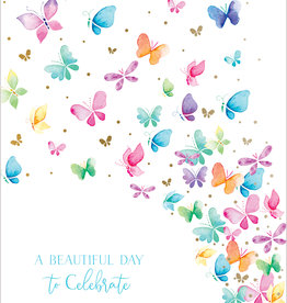Pictura - Happy Birthday Butterfly Card