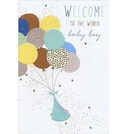 Pictura - New Baby Boy Card