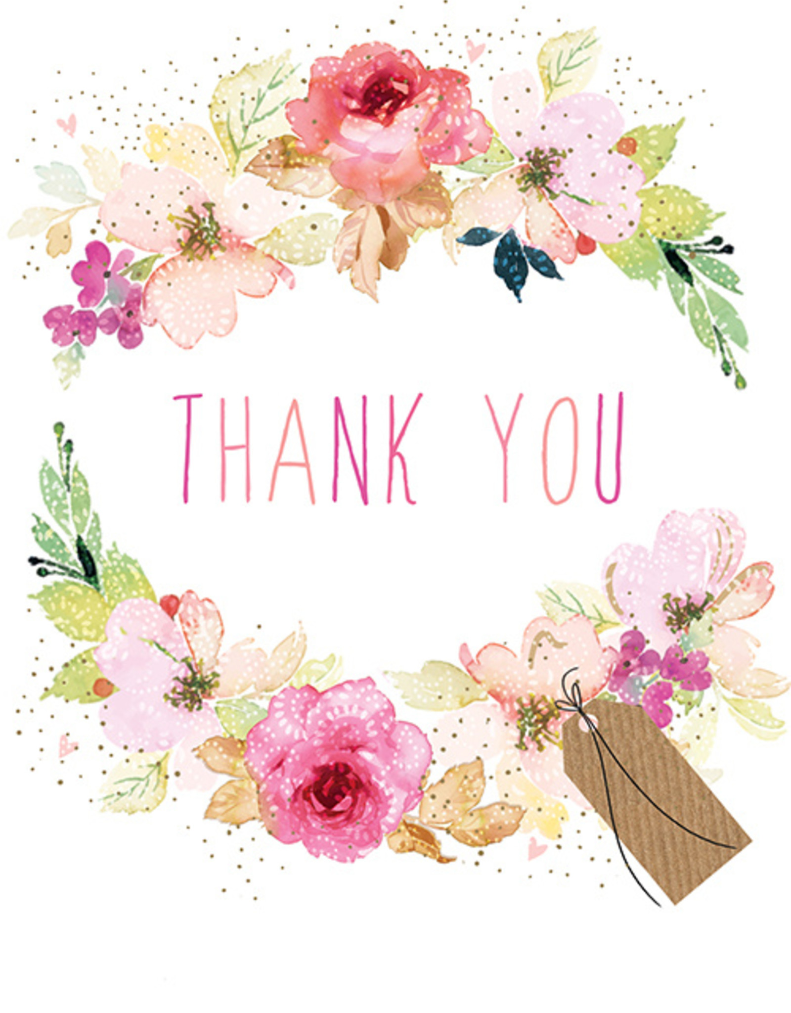 Pictura Pictura - Sara Miller Thank You Card 51302