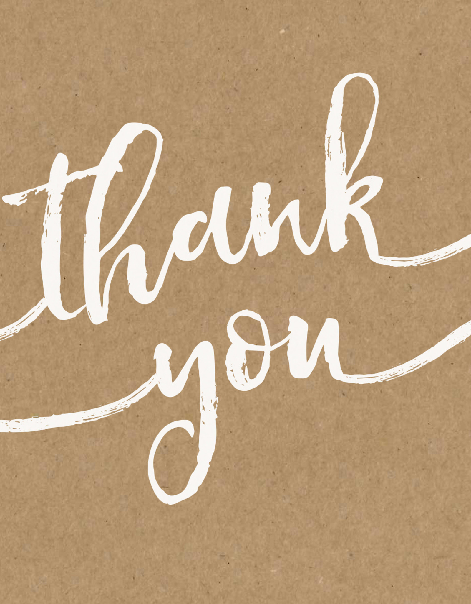 Pictura Pictura - Thank You Kraft Card