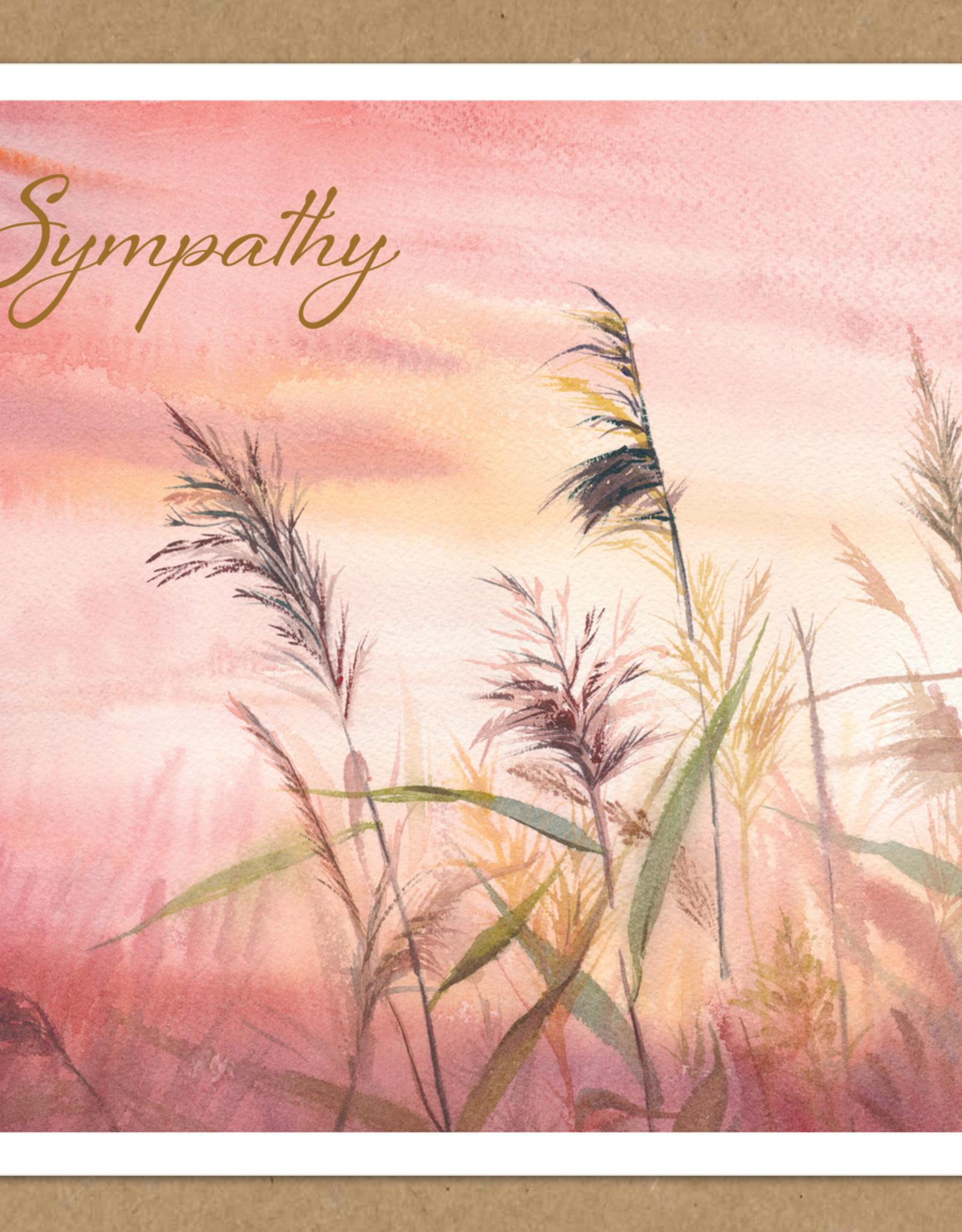 Pictura Pictura - Kraft Sympathy Card