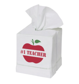 Marshes, Fields & Hills - Tissue Box Cover #1 Teacher Candi Red/Grass Green