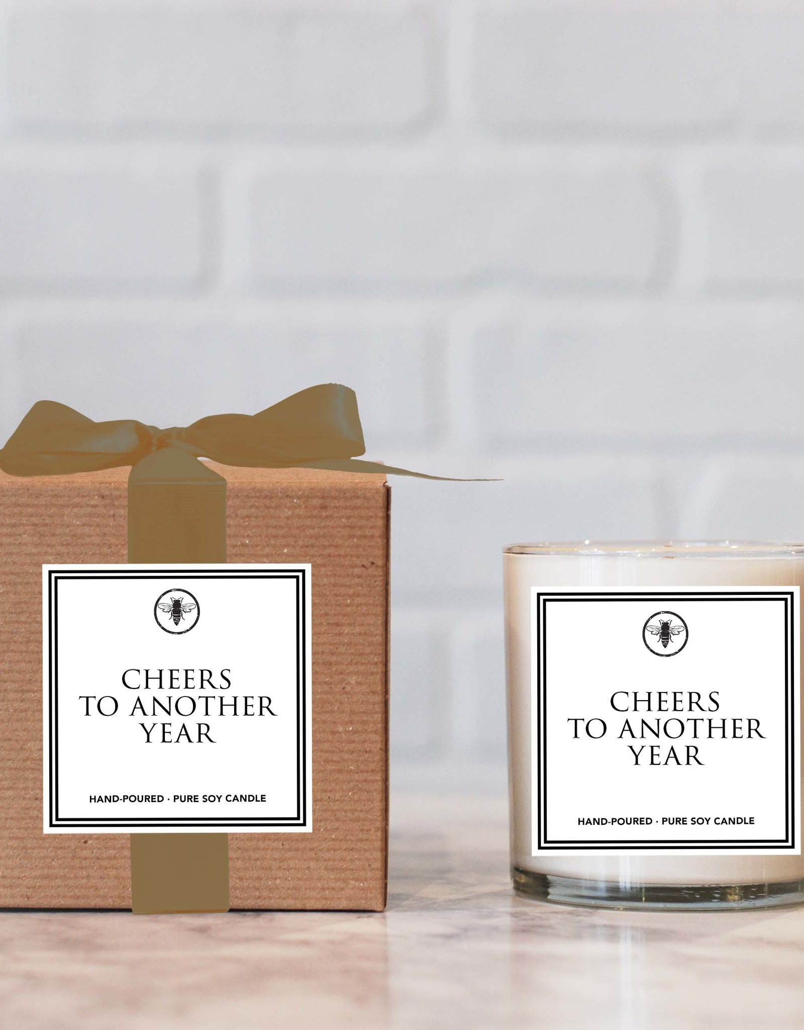 Ella B - 11oz Candle Cheers To Another Year