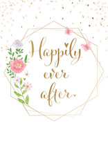 Pictura Pictura - Wedding Card - Happily Ever After