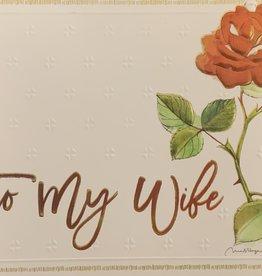Pictura - Wife Anniversary Card