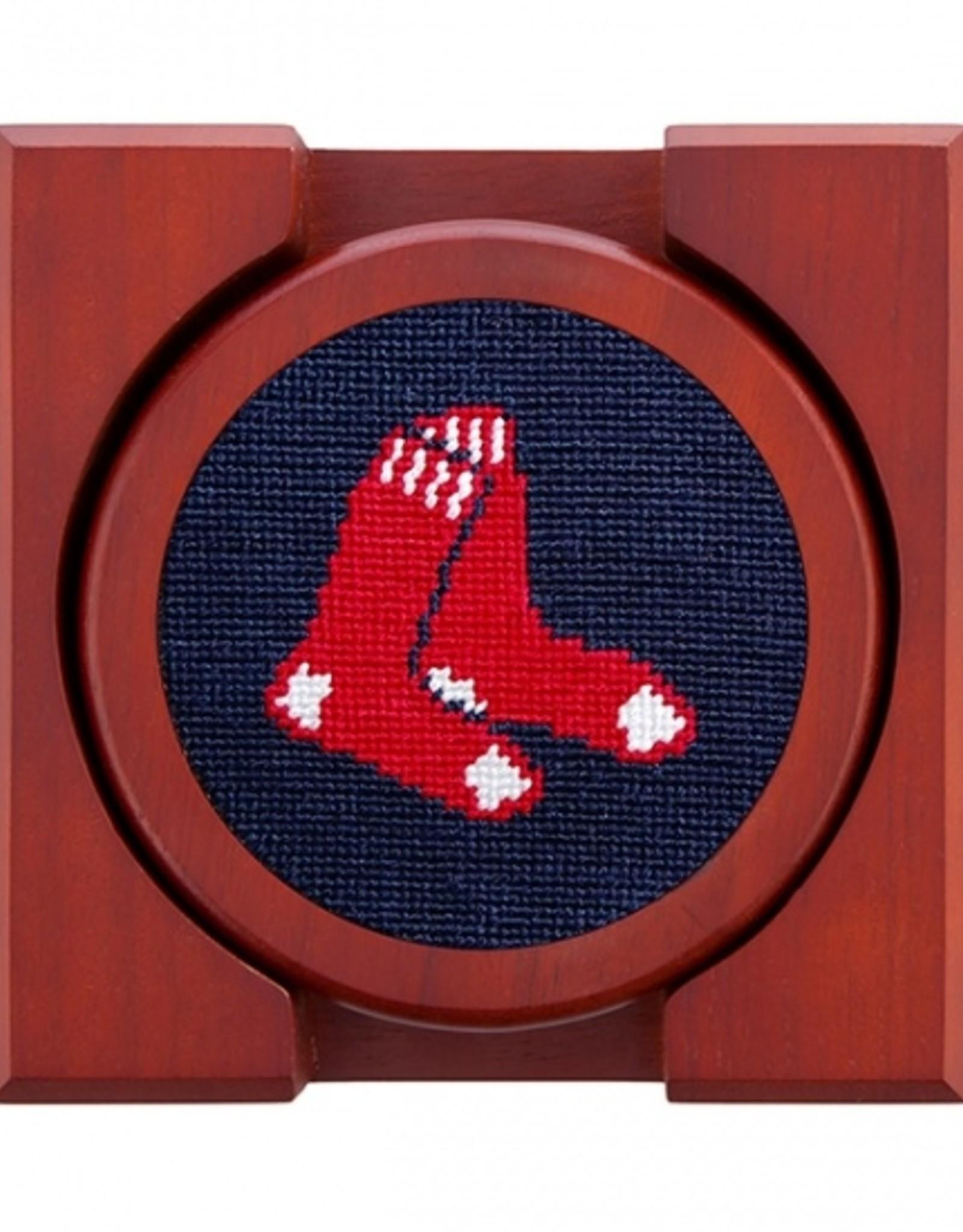 Smathers & Branson Smathers & Branson - Coaster Set of 4 Red Sox