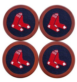 Smathers & Branson - Coaster Set of 4 Red Sox