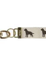 Marshes, Fields & Hills - Key Chain Dog - Black