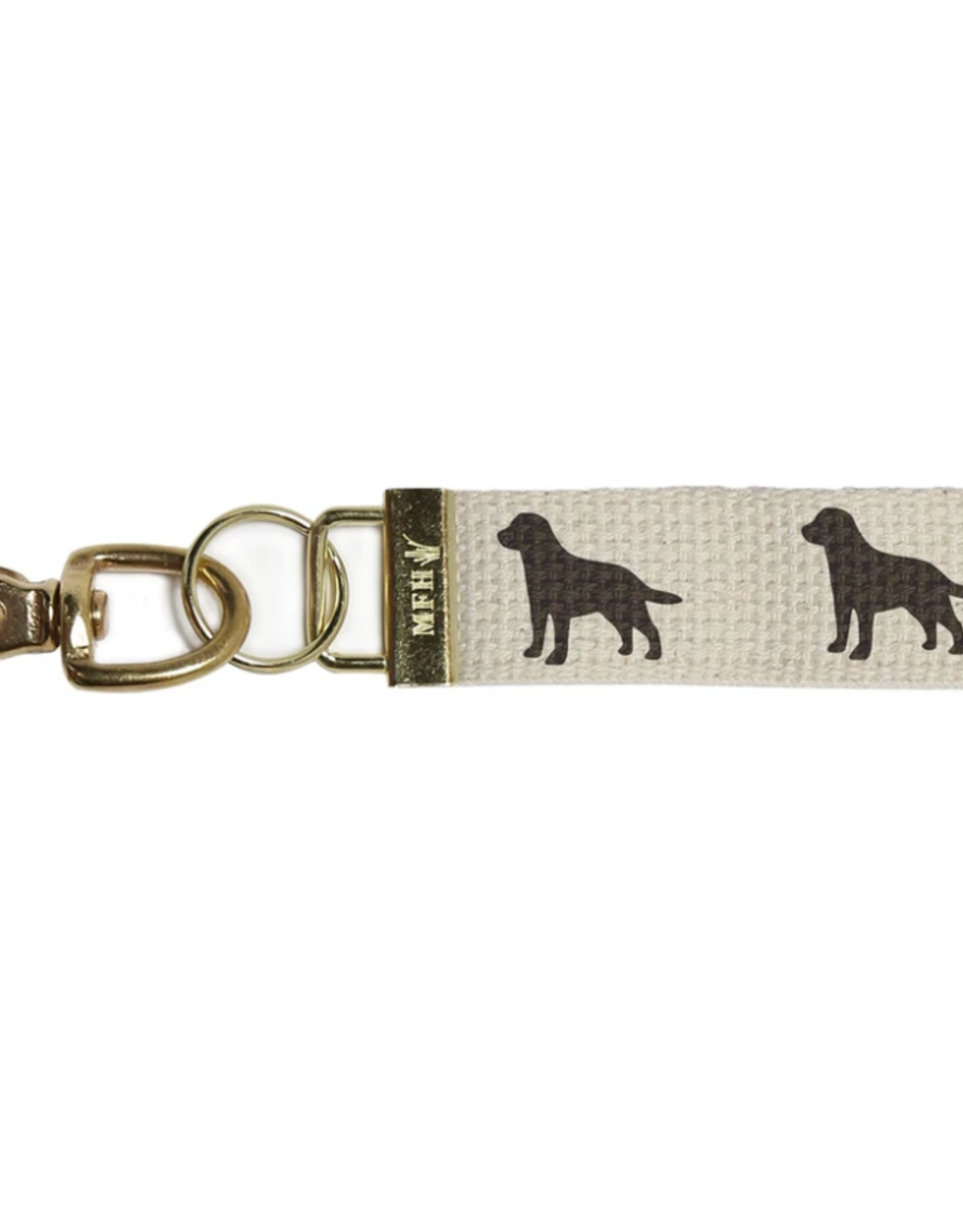 Marshes, Fields & Hills - Key Chain Dog - Black