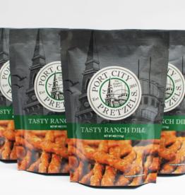 Port City Pretzels Tasty Ranch Dill 4oz