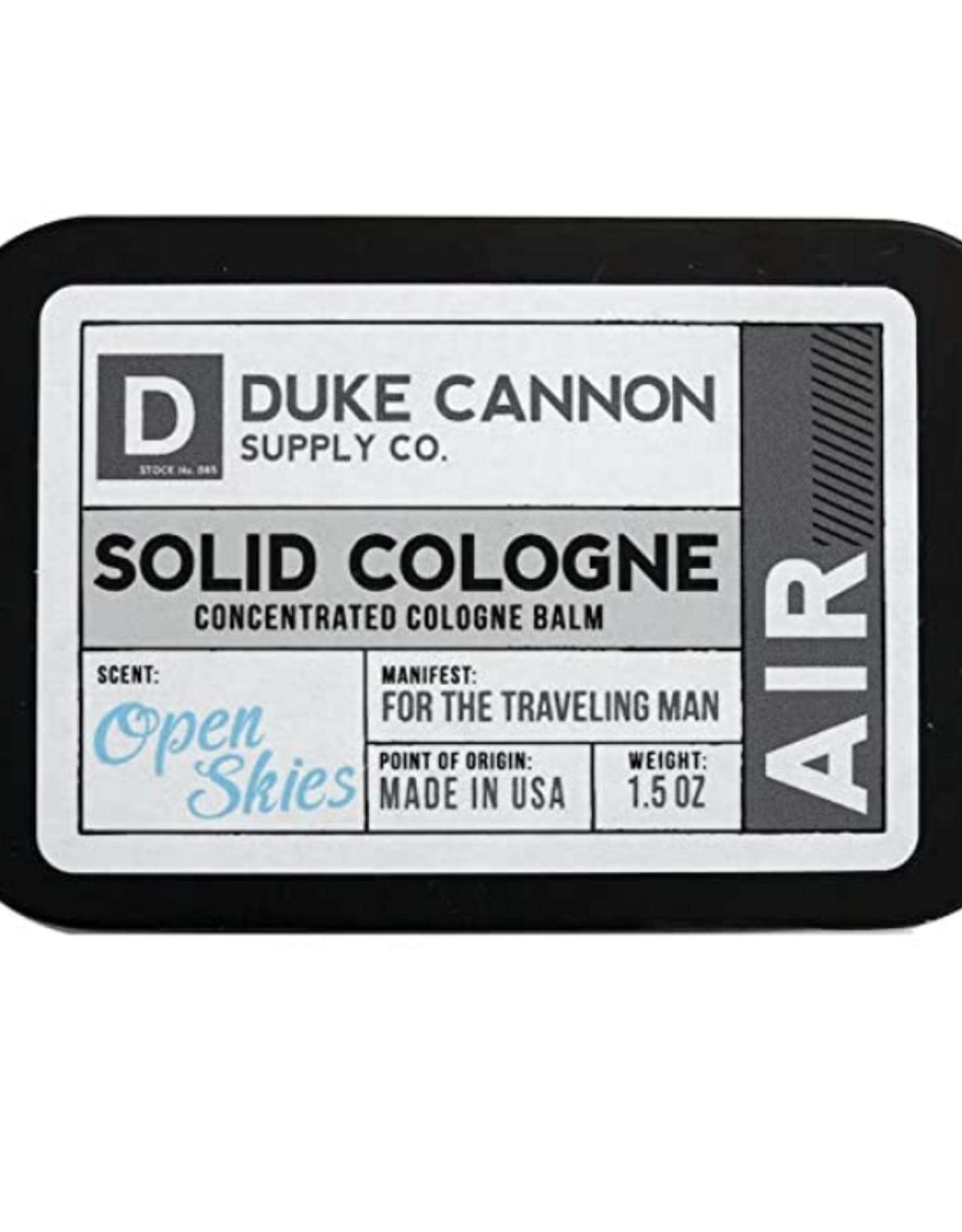Duke Cannon Duke Cannon - Traveling Colonge Open Skies
