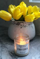 Boston Wick Boston Wick Company - Lemon Verbena Candle