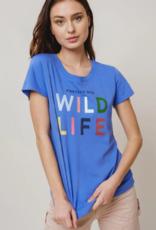 Ivory Ella Ivory Ella - Amie Wildlife Slim Tee