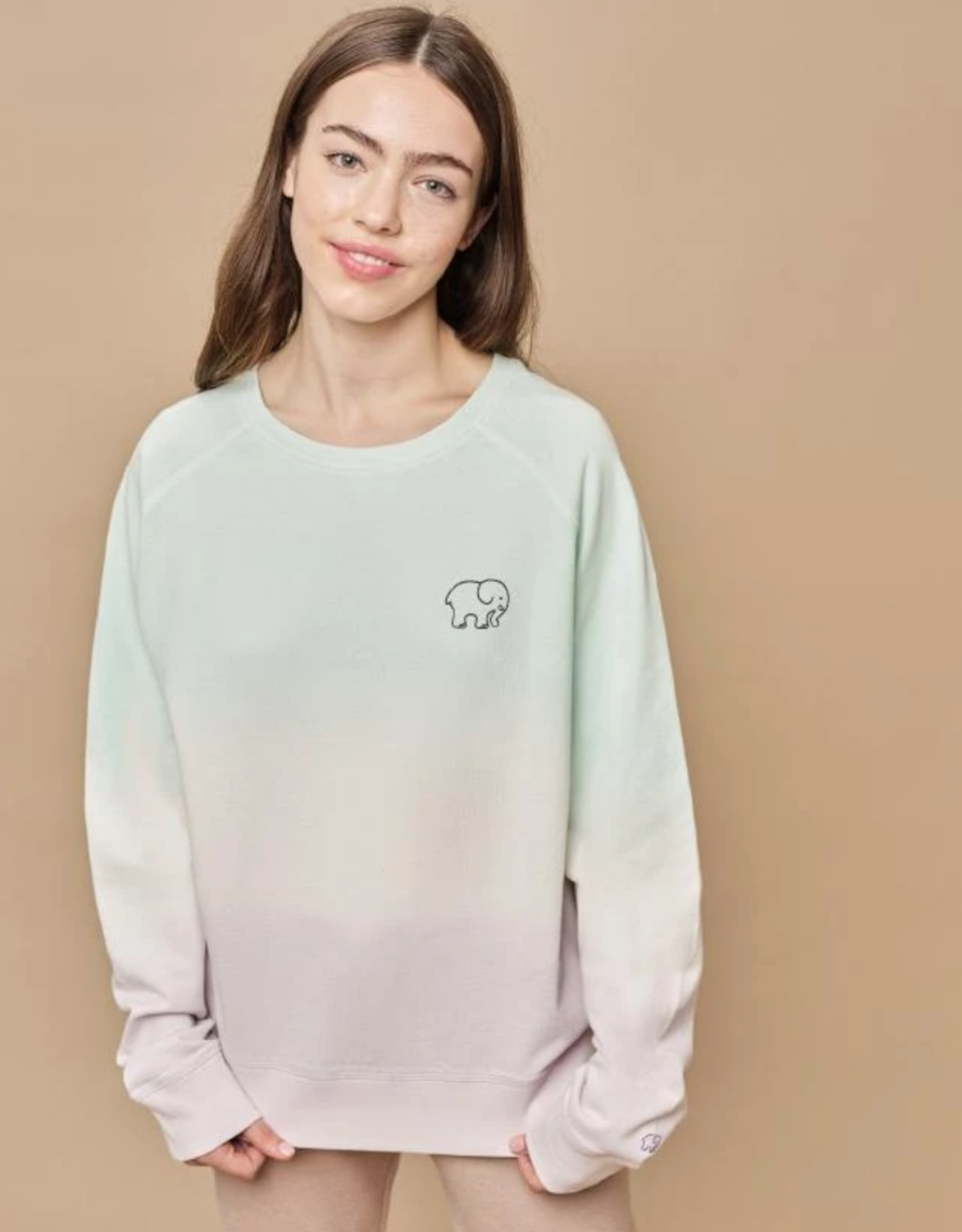 Ivory Ella Ivory Ella - Alissa Dip Dye Sweatshirt
