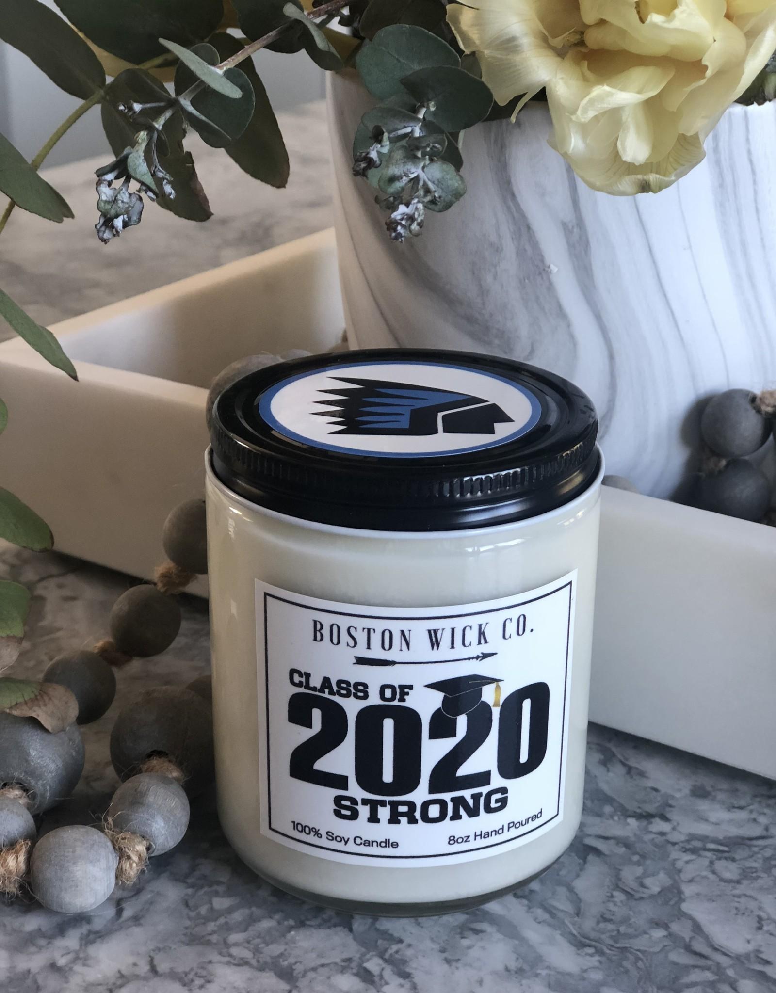 Boston Wick Boston Wick Co - Medfield Class of 2020 Candle