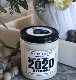 Boston Wick Boston Wick Co - Medfield Class of 2020 Candle