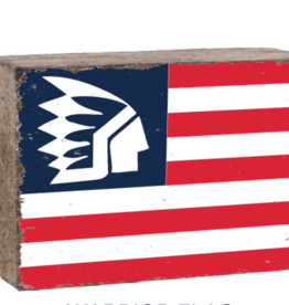 Rustic Marlin Rustic Marlin - XL Blocks Warrior Flag
