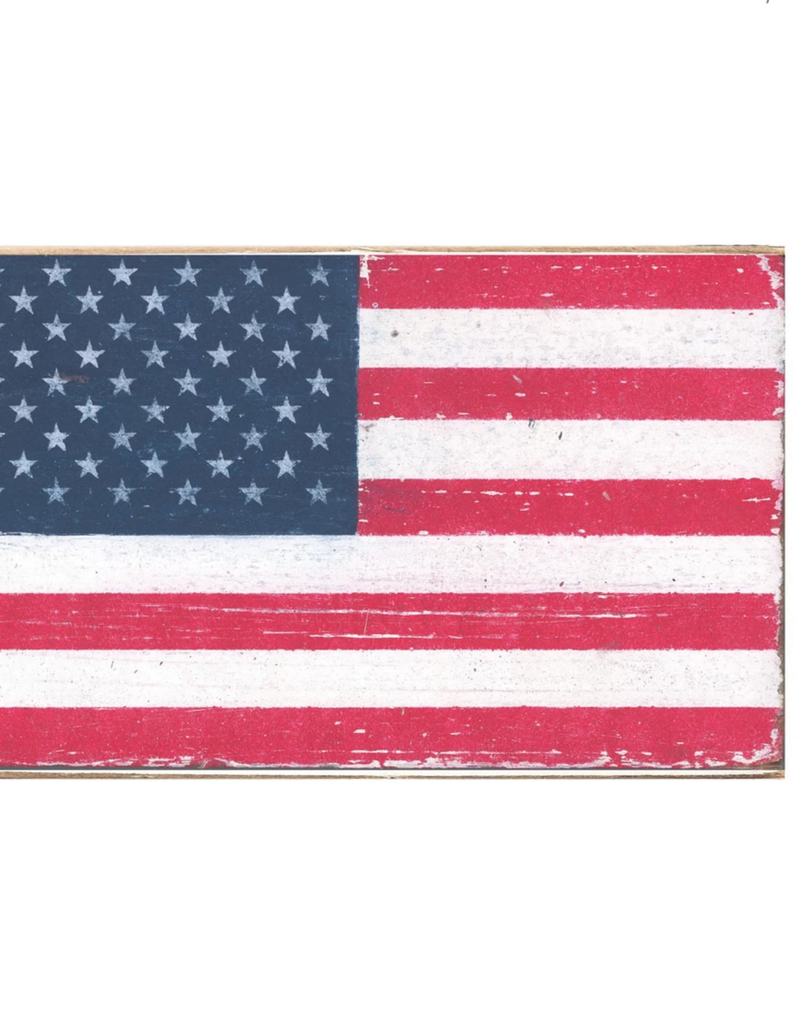 Rustic Marlin Rustic Marlin - XL Blocks Flag - 50 Stars