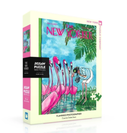 NY Puzzle NY Puzzle - Flamingo Photographer 500pc